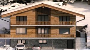 Nouveau à Villars-Gryon : Chalet de 360 m2 sur 3 niveaux